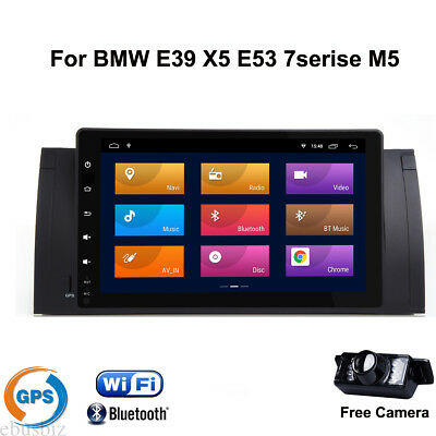 For BMW E39 E53 Android8.1 Stereo HD Touch Player Radio GPS Navigation Bluetooth