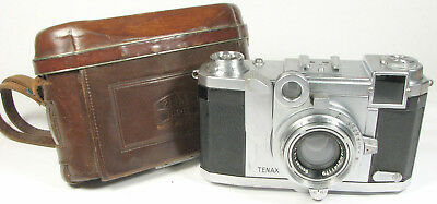 Zeiss Tenax II w/ 4cm Sonnar and Case