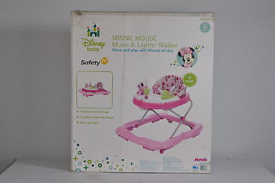 Disney Baby Music and Lights Walker Floral Minnie Mouse