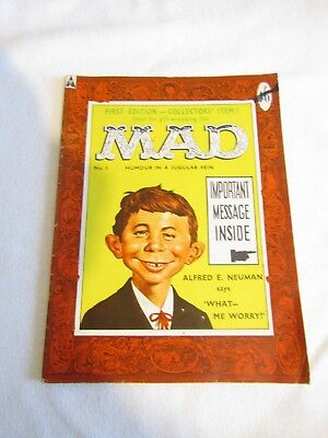 MAD Magazine - UK Issue No: 1 First Ever UK EDITION FREE UK P+P
