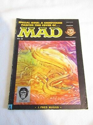 MAD Magazine - UK Issue No: 8 Chimpanzee Cover UK EDITION FREE UK P+P
