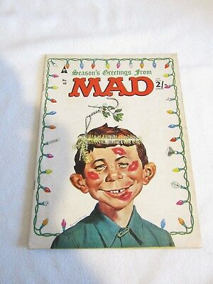 MAD Magazine - UK Issue No: 48 Christmas Edition Cover UK EDITION FREE UK P+P