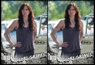 2x LORI GRIMES ALONE MARATHON WAVE I Topps WALKING DEAD DIGITAL Card Trader