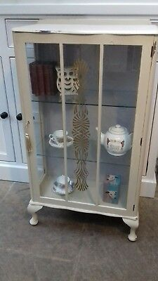 Small Vintage Art Deco Display Cabinet