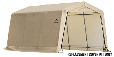 ShelterLogic Replacement Cover Kit 14.5oz 10x15x8 805442 90526 for 62681 68217