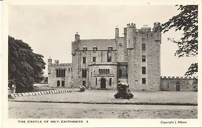 Postcard RPPC Scotland Caithness Castle of Mey Queen Mother unposted