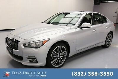 2015 Infiniti Q50 Premium Texas Direct Auto 2015 Premium Used 3.7L V6 24V Automatic AWD Sedan Bose