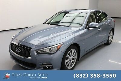 2015 Infiniti Q50 4dr Sedan Texas Direct Auto 2015 4dr Sedan Used 3.7L V6 24V Automatic RWD Sedan Premium