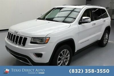 2015 Jeep Grand Cherokee Limited Texas Direct Auto 2015 Limited Used 3.6L V6 24V Automatic RWD SUV Moonroof