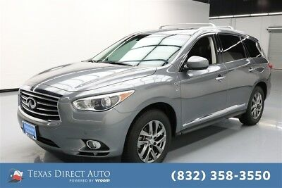 2015 Infiniti QX60  Texas Direct Auto 2015 Used 3.5L V6 24V Automatic FWD SUV Premium Moonroof Bose