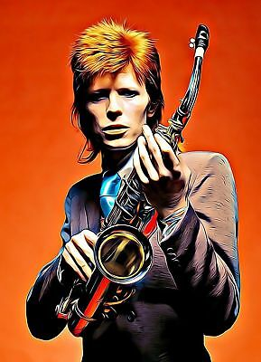 David Bowie Poster Print A5..a4..a3.a2 Options