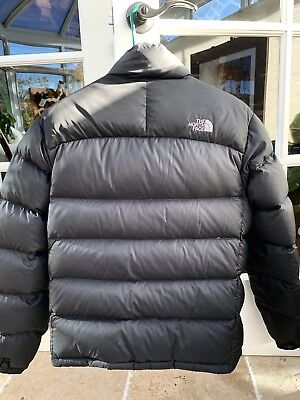 The North Face Nuptse Puffer Goose Down 700 Jacket Mens Small Coat Black 2f7f081f2