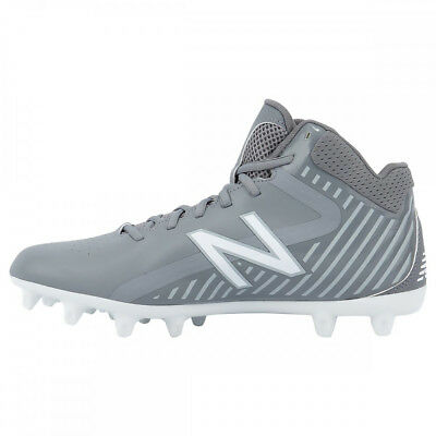 New Balance Rush Boy's Lacrosse / Football Cleats - Gray (NEW)