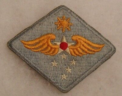 Harder To Find Pale Blue Variant Of Wwii Aaf Far East Aaf Patch Emb No Glow Ce