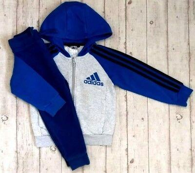 3 4 Years Adidas Tracksuit Jacket Top Joggers Boys Trendy Winter Clothes Bundle