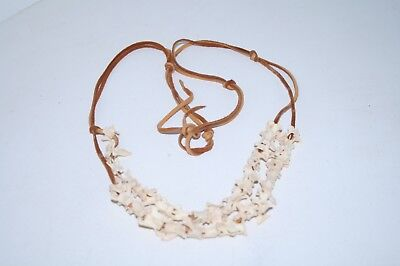 Mink vertebrae necklace, v47d .. , ....  . replica primitive...