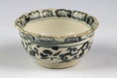 Superb Antique 15/16thC Annamese Vietnamese Tonkin Blue & White Cup or Bowl