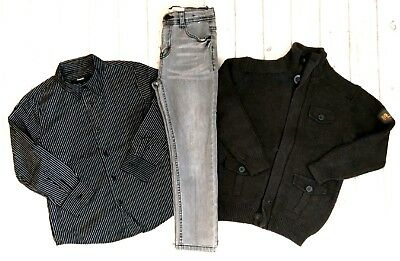 6 7 Years Wool Jacket Cardigan Shirt Skinny Jeans Boys Trendy Clothes Bundle
