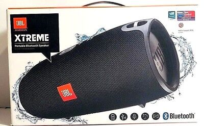 JBL Xtreme Portable Wireless SplashProof Bluetooth Speaker -BLACK Retail Box