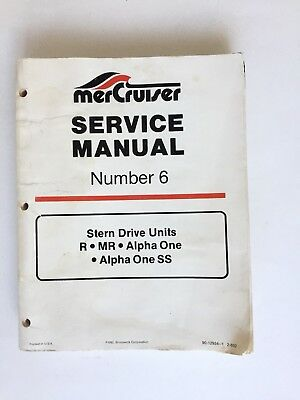 mercruiser service manual 6