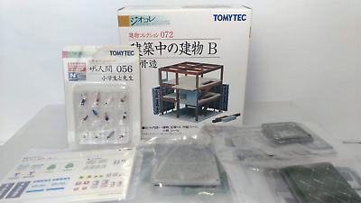 Tomytec  Diorama Collection 1:150 Building Under Construction& Person Figure NEW