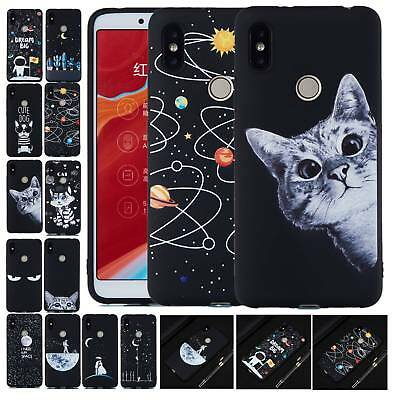 Pretty Pattern Silicone Soft Thin Case Cover For Xiaomi Mi 8 F1 Redmi Note 6 6A