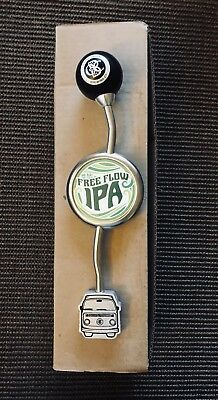 Otter Creek Brewing Co FREE FLOW IPA Gear Shift Tap Handle - NEW IN BOX