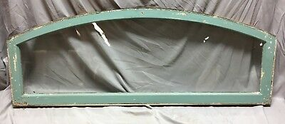 Antique Transom Arched Round Dome Top Window Sash 54X21 Shabby Vtg Chic 575-18C