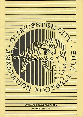 Dec 89 GLOUCESTER CITY v CARDIFF CITY FA Cup replay