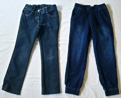 Girls denim jeans size 6