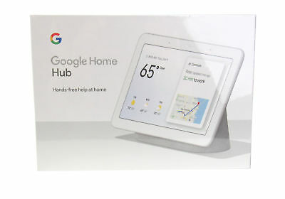"Google Voice-Activated 7"" WSVGA Touchscreen Home Hub w/ WiFi & Dual Mics, Chalk"