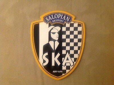 Salopian Brewery SKA Beer Pump Clip Music Theme