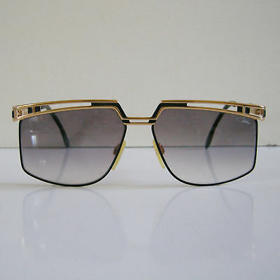 887b5a7eedd Vintage CAZAL MOD 957 COL 302 GOLD   BLACK SUNGLASSES FRAMES MADE IN GERMANY
