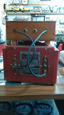 Vintage Trindl Arc Welder from the 50s Antique Industrial Machine,Cool Garage !!