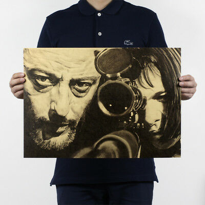LeonThe Professional H410 Playbill Retro Kraft Decor Antique Poster Room Wall