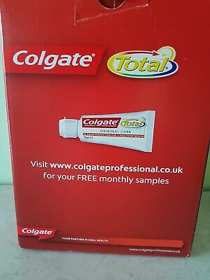 Colgate Total Toothpaste 50 x 19 ml Travel Size Handy Size - Boxed