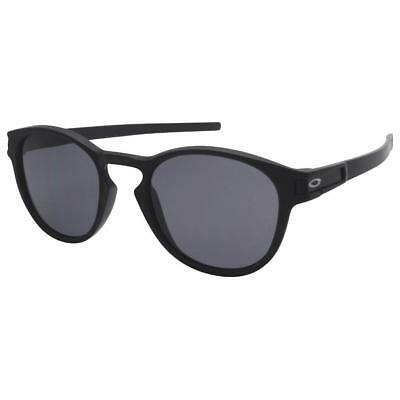 dd11eb53839 Oakley OO 9265-01 LATCH Matte Black with Grey Lens Mens Womens Sunglasses .