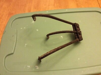 Rare Antique Vintage Push Garden Plow Cultivator Farm Tool Decor part