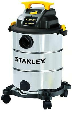 Stainless Steel Wet/Dry Vacuum Cleaner New Shop Vac Garage Industrial 8 Gallon