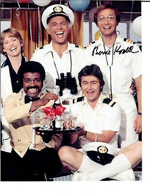 Bernie Kopell Original Signed Authentic Autograph The Love Boat Get Smart