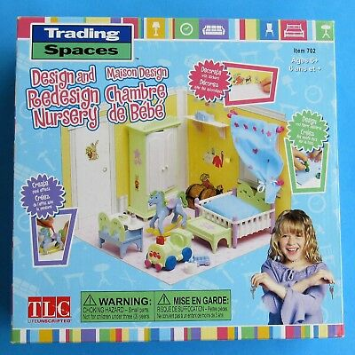 Trading Spaces Design and Redesign Doll House Room Nursery