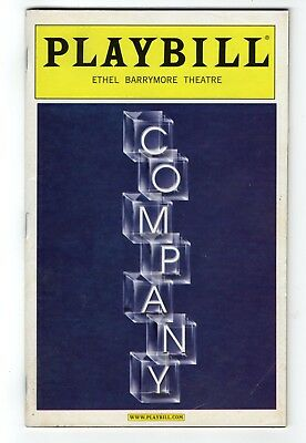 Company Ethel Barrymore Theater Playbill November 2006 Broadway Barbara Walsh