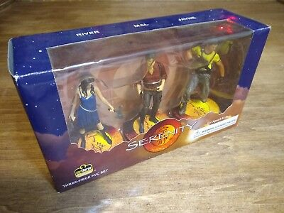 Vintage Firefly/Serenity  PVC Figure set of 3 from Dark Horse- Packaged