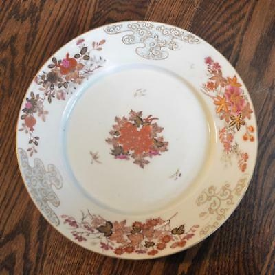 Antique Japanese Plate - Chinese Export Style, Signed