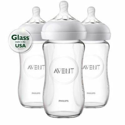 Philips AVENT - Natural Glass  8oz, 3pk