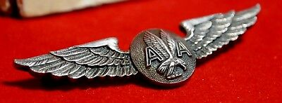 Vintage 1960's Sterling American Airlines Stewardess Wing, by Balfour