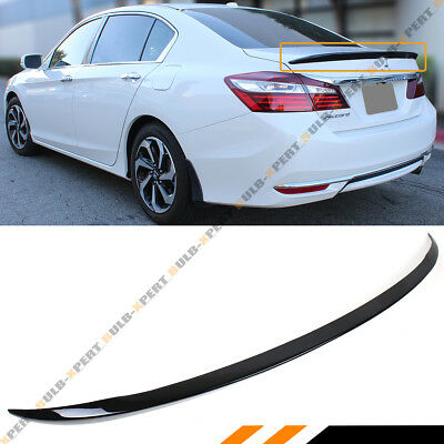 Car Rear Window Roof Spoiler Wing Visor Glossy Black For Honda For Civic 4dr 2016 2017 2018 4 Door Sedan All Models Evident Effect Auto Replacement Parts