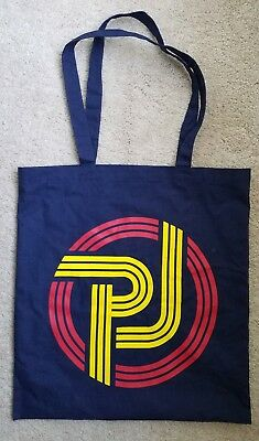 Pearl Jam navy blue tote grocery bag nm not Mumford Ames Klausen poster sticker
