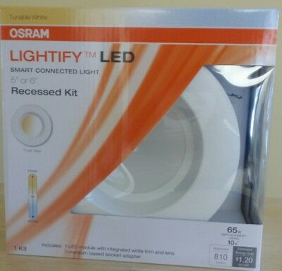 Sylvania Osram Lightify 65W LED Recessed Kit for Smart Connected Light