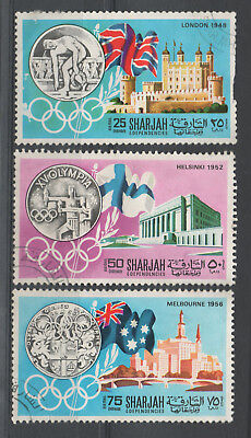 Sharjah - Olympic Games Mint CTO
